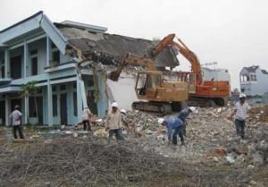 Thép phế liệu công trình Tại Phúc Diễn, Hà Nội