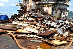 Thép phế liệu tàu, xà lan Tại An Giang